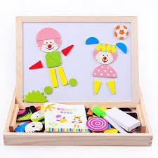 <b>Baby Toy Farm Jungle</b> Animal Wooden Magnetic Multifunctional ...