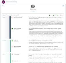 plum pricing features reviews comparison of alternatives getapp plum screenshot detailed breakdowns of individual candidate scores show how well matched they are