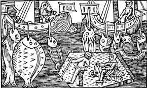 Image result for medieval drift nets