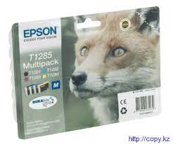 Комплект <b>картриджей Epson T1285</b> (C13T12854010 ...