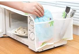 ShopAIS <b>1Pc</b> Romantic <b>Microwave Oven</b> Cover with 2 Pouch ...