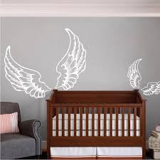sun wall decal trendy designs: wings wall decal trendy wall designs