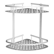 No drilling Kitchen holder <b>triangle space aluminum</b> caddy shelves 2 ...