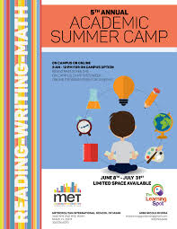 printable day care flyer templates share on preschoolsummer met summer camp flyer academic home met summer camp flyer academic