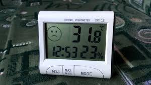 4 в 1: <b>термометр</b>, гигрометр, часы, будильник DC102 - YouTube