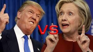 「hillary and trump」の画像検索結果