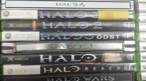 every halo game in chronological order ur fun facts that halo 2 collectors edition case and game went to my older brother and survived a sandstorm my copy of halo wars was gifted to me