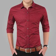 <b>2018 New Spring</b> Men Shirts <b>Casual</b> Slim Fit Long Sleeve Shirt For ...