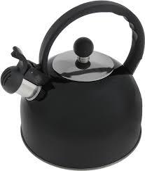 <b>Чайник</b> со свистком, <b>2.5 л</b> графитовый — купить в интернет ...