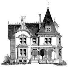 Cottage House Plans   French Gothic CottageCottage House Plans
