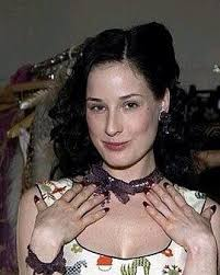 dita von teese without makeup is gorgeous