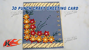 New Year Craft Ideas Diy Easy Punch Craft Greeting Card For Christmas New Year How