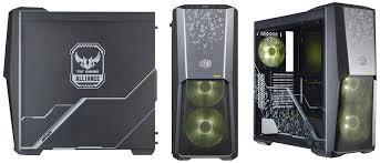 Обзор <b>корпуса Cooler Master MasterBox</b> MB500 TUF Gaming Edition