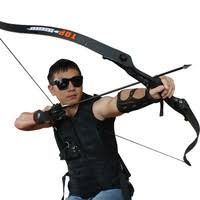 powerful recurve bow 40 lbs outdoor hunting shooting professional archery g02