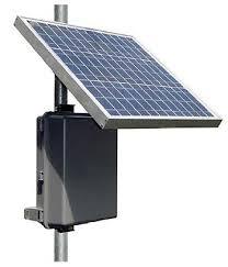 Resultado de imagem para fontes de energia solar ao ar livre em postes