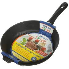 <b>Сковорода чугунная Камская посуда</b> ПЛЧ-1-28-60-01-6 без ...