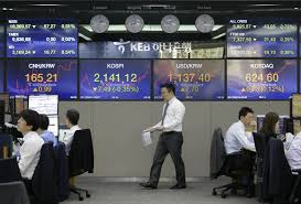 asian markets lower amid concerns over tensions in koreas the asian markets lower amid concerns over tensions in koreas the seattle times