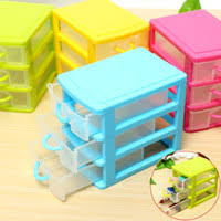 cheap new arrival desktop plastic storage box with three drawers jewelry organizer holder cabinets fit for cheap office drawers