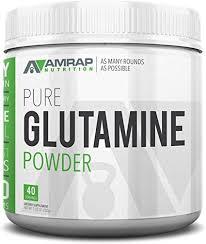 AMRAP Nutrition Vegan <b>Glutamine Powder</b>, 200g, <b>High Quality</b> ...