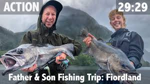 <b>Father</b> & <b>Son Fishing</b> Trip: Fiordland New Zealand - YouTube
