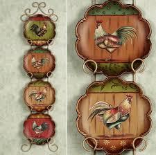Rooster Chicken Kitchen Decor Kitchen Inspiring Rooster Decor For Kitchen Island Centerpiece