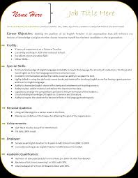 good resume format able resume templates good resume format resume format 35 resume formats techcybo sample resume format