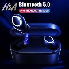 Online Shop H&A 2019 NEW HD Stereo Bluetooth v5.0 <b>Wireless</b> ...