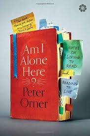 reading about reading about reading on peter orners am i alone  nlzcpnvl
