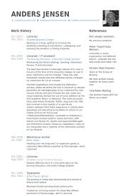 librarian resume samples librarian resume examples