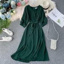 Elegant <b>Autumn Women's Fashion</b> Slim <b>Chiffon</b> Maxi Long Dresses ...
