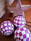 Сделать новогодний шар из бумаги своими руками