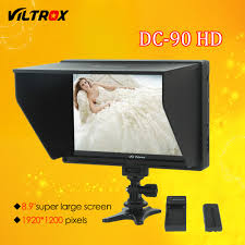 Viltrox DC 90 HD <b>8.9</b>'' <b>Super Large</b> Screen LCD HDMI AV Camera ...