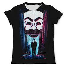 Купить футболка с полной запечаткой мужская <b>printio</b> мистер ...