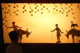 Image result for Shadow puppet in Siem reap