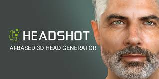 <b>Headshot</b> - Photo to 3D Face Generator | Character Creator