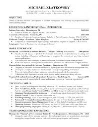 technical product management resume technical product manager