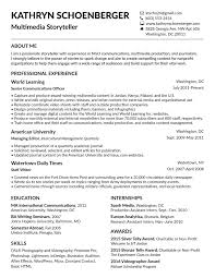resume kathryn schoenberger my resume