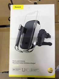 Автомобильный держатель с беспроводной зарядкой <b>Baseus</b> ...