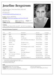 acting resume sample presents your skills and strengths in details please check here specially for acting resume example