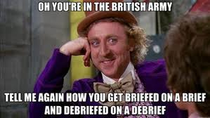Oh! You're In The British Army | Military Humor via Relatably.com