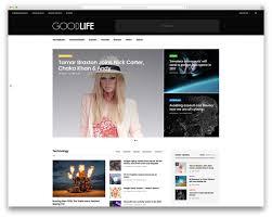 top news magazine wordpress themes colorlib goodlife beautiful news wordpress template