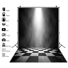 <b>Laeacco</b> Stage Background Abstract Shiny Light <b>Black White</b> ...