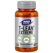 Buy Now Foods <b>T</b>-<b>Lean Extreme</b> Veg Capsules, <b>60</b> Count Online at ...