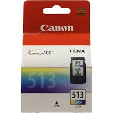 Оригинальный <b>картридж Canon CL-513</b> (трехцветный ...