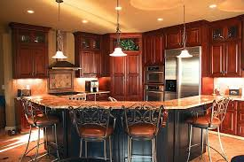 cherry wood cabinet kitchen