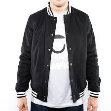 <b>Куртка URBAN CLASSICS</b> Wool College <b>Jacket</b> (Black, 2XL ...