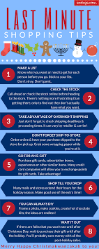 infographic last minute shopping tips ezpz last minute shopping tips sdc