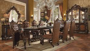 11 Piece Dining Room Set Solid Cherry 11 Piece Formal Dining Room Set With Custom Table