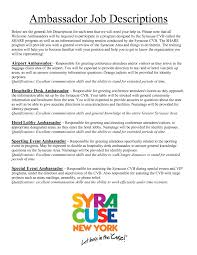 brand ambassador job description for resume riez sample 10 brand ambassador job description for resume riez sample resumes