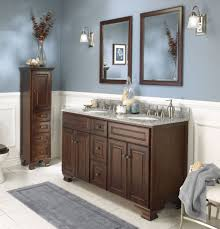 bathroom modern vanity designs double curvy set: wall mounted square wooden dark brown and black countertop vanity top granite cabinet with white round undermount single sink and brown curved center set